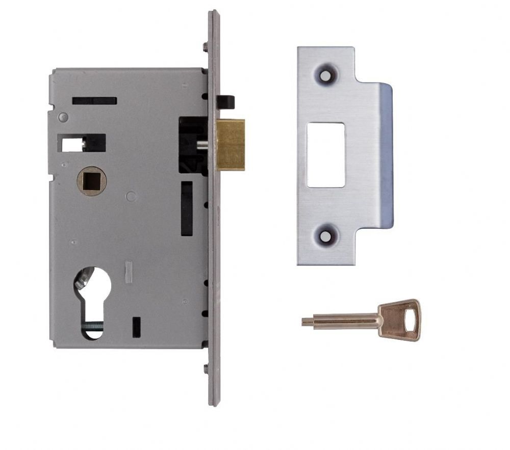 Union L2349 Euro Cylinder Mortice Nightlatch Case Only 163 35 50